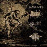AKERBELTZ / AVANGH DHUR / MORBID YELL / HELLTHRONE - LP (Split)