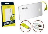 Carregador de Celular Portátil Slim 5000mah Powerbank Pineng Pn-952 Com 1 Usb