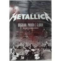 DVD -  Box Metallica - Orgulho, Paixão e Glória (02 DVDs + 02 CDS)