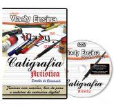 DVD Vlady Ensina - Caligrafia Artistica
