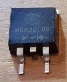 DIODO DUPLO MBR20100 TO-263 (SMD)