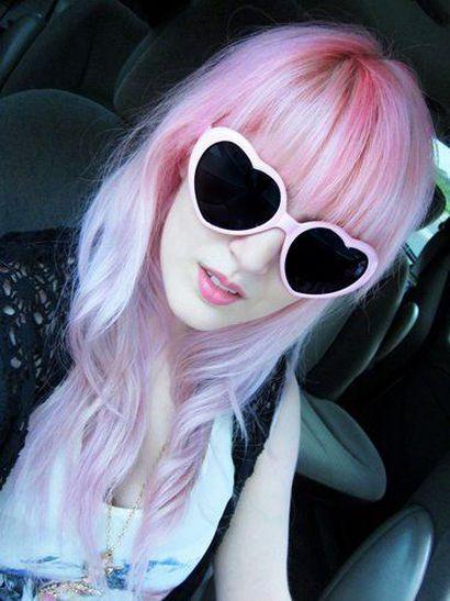 Óculos de Sol Heart Rosa