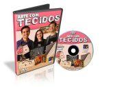 DVD Arte com Tecidos