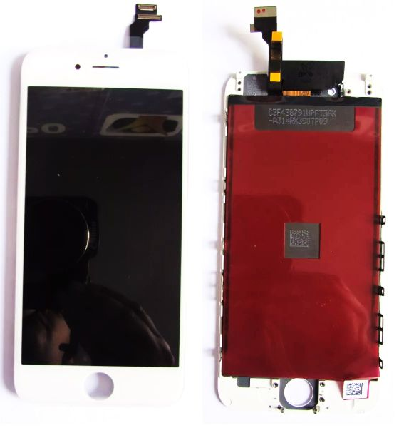 Tela Display Com Touch Iphone 6 Original