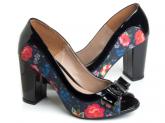 Sapato Peep Toe (Ref: SM043)