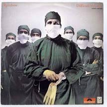 LP  - Rainbow - Difficult to Cure  Importado Japonês