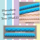 Marcadores Textura em Tiras (Mod.2)