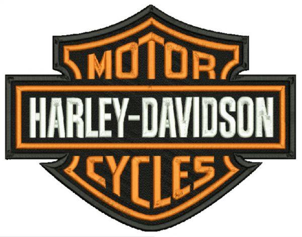 Harley Davidson Brasão Matriz para Bordar