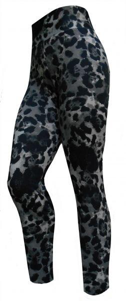 legging plus size camuflada/animal print(52/54),cintura alta, tecido suplex 360