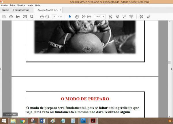 APOSTILA MAGIA AFRICANA DE DOMINAÇÃO