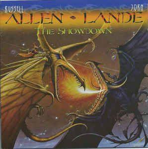 CD - Allen-Lande – The Showdown