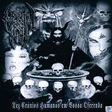 MORTAL WISH - Dez Crânios Humanos Em Vossa Oferenda - (PHI - 009)