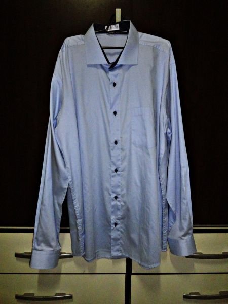 Camisa Social Pêndulo Azul Celeste