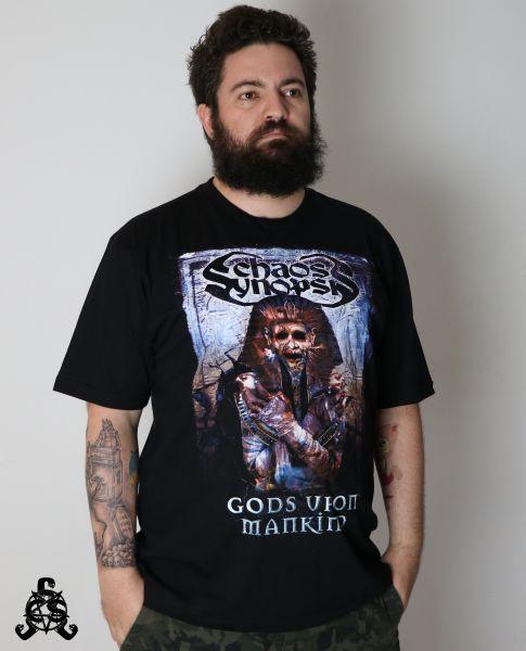 Camiseta Gods Upon Mankind