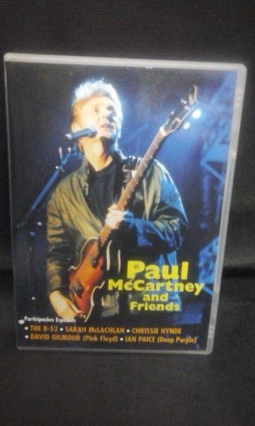 DVD - Paul McCartney - And Friends