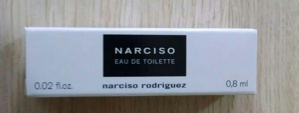 Amostra de Perfume Importado Narciso Rodriguez Eau de Toillete 0,8ml