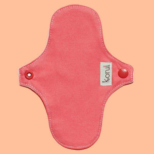 Protetor de Calcinha COM Abas - Korui - Pétala Pink