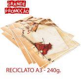 Impressão Colorida - A3 - RECICLATO  240g