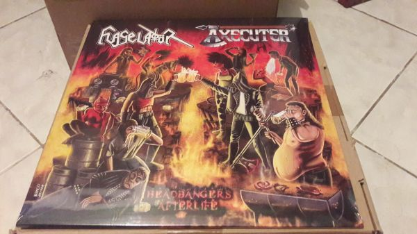 LP - Flagelador / Axecutter - Headbangers Afterlife - Split