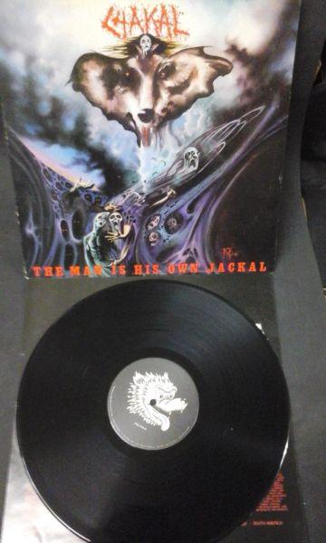 LP 12 - Chakal - The Man is His Own Jackal peça unica