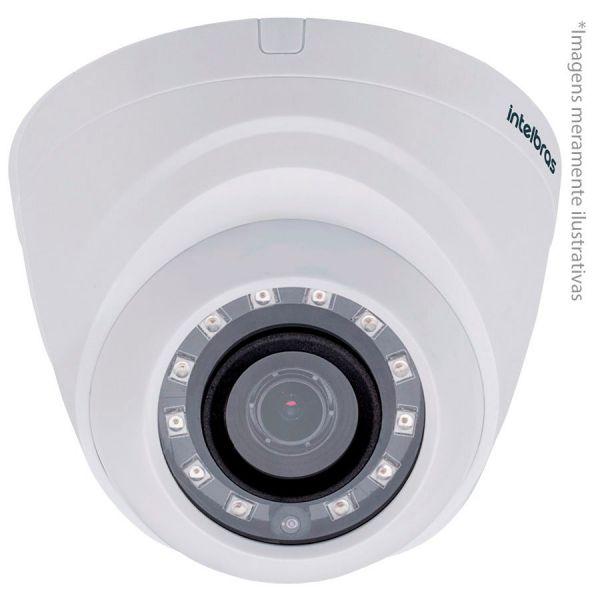 Câmera Dome Infravermelho Multi HD 4 em 1 Intelbras VHD 1120 D G4 HD 720p 2,8mm - HDCVI, HDTVI, AHD,