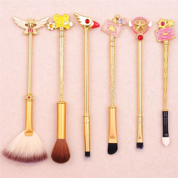 Pinceis de Maquiagem Sakura Card Captor
