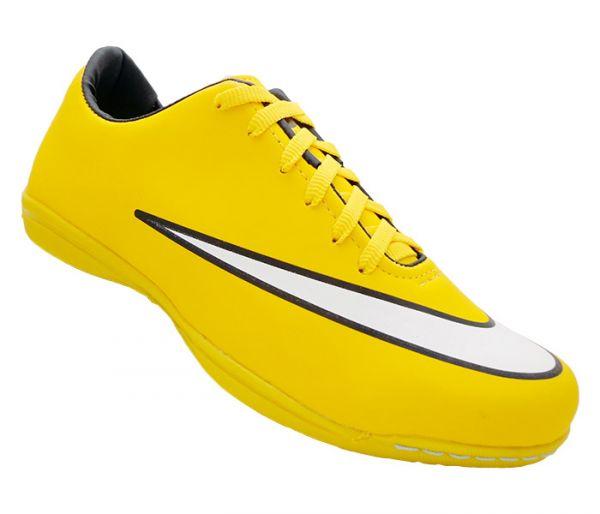 Chuteira Futsal Nike Mercurial Victory 5 Amarela - Mega Mix Calçados da5ff79e65ec9