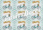 Papel Arroz Bicicleta Faixa Lateral A4 002 1un