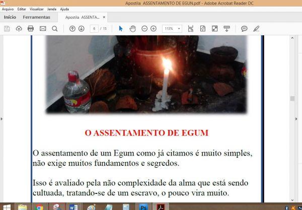 APOSTILA ASSENTAMENTO DE EGUM