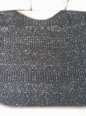 Blusa de linha preta