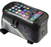 Bolsa de quadro e celular para bicicleta tamanho P