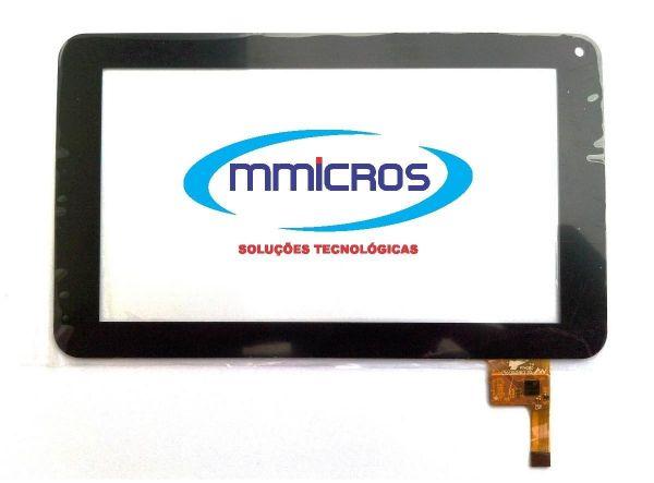 Tela Vidro Touch Tablet Cce Tr71 Motion Tab Tr71 7 Polegadas