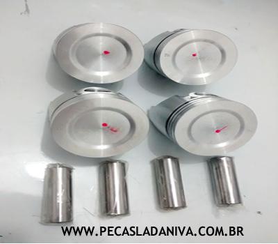 Jogo de Pistão com Anéis Std 79mm Laika (Novo) Ref. 0254