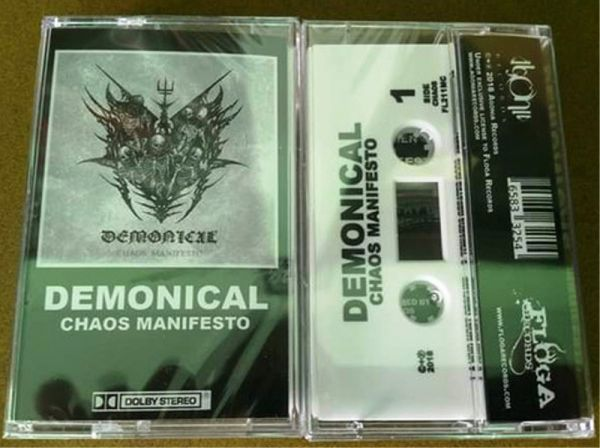 DEMONICAL - Chaos Manifesto - CASSETE