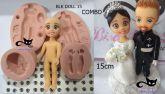 Kit COMBO Doll 15 + 30 pares de olhos res 380 A - P
