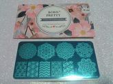 Born Pretty BP L055 Placa para carimbo