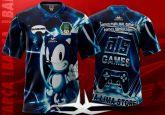 Camiseta Gameologos com Manga Curta