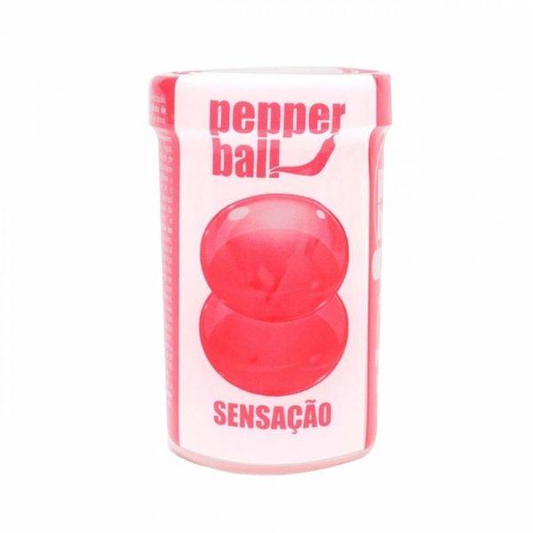 BOLINHA EXPLOSIVA SENSACAO COMESTÍVEL PEPPER BALL 2 UNID PEPPER BLEND