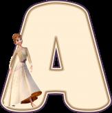 Alfabeto - Frozen 2 - PNG