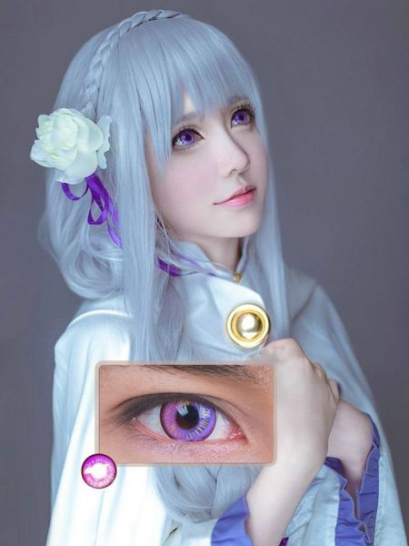 .Coscon Anime Eyes - Violet - 14.5mm