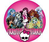 Papel Arroz Monster High Redondo 005 1un