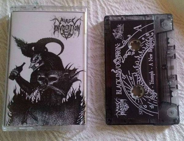 Black Invocation - Chaos - Triumph - A New Beginning