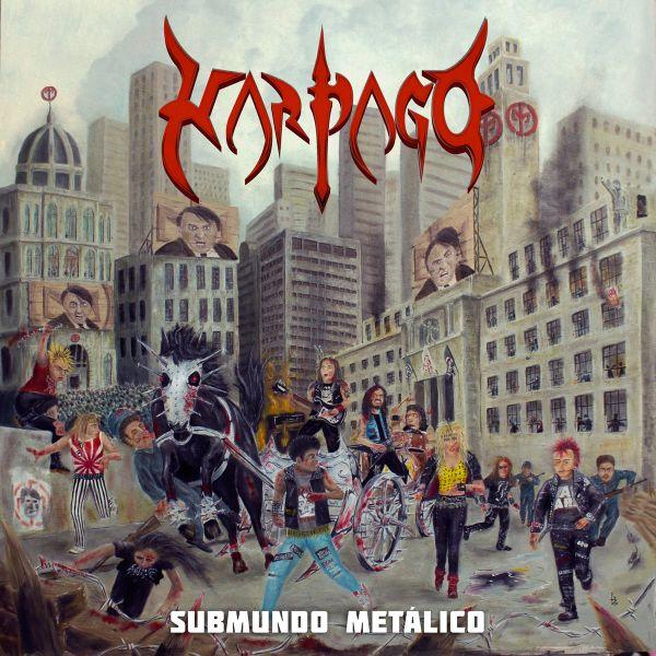 CD - Harpago - Submundo Metálico