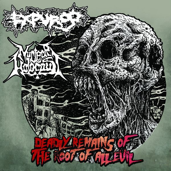 LP 12 - Expurgo / Nuclear Holocaust – Deadly Remains Of The Root Of All Evil (Vinil  Preto)