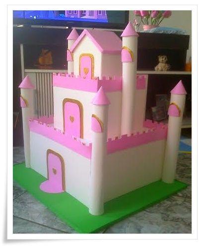 Castelo Princesa - Coisas de Gigi Artes em EVA