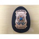 Distintivo Policia Civil Modelo Nacional