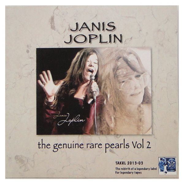 LP 12 - Janis Joplin – The Genuine Rare Pearls Vol.2