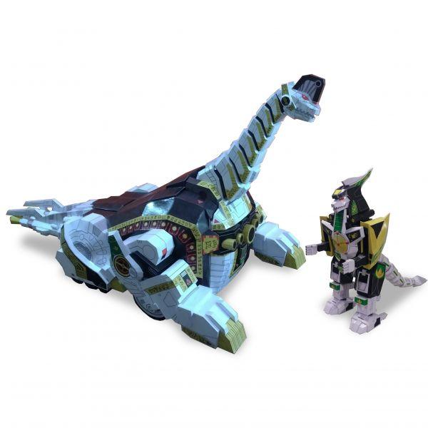 Titanus Zord e Dragon Zord - Arquivo