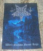 "Dark Funeral - ""Where Shadows Forever Reign"" - Bandeira"