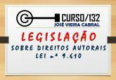 X-132. legislação sobre direitos autorais - Lei 9.610